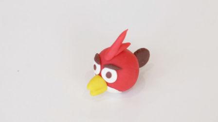 会玩妈妈-彩泥DIY愤怒的小鸟