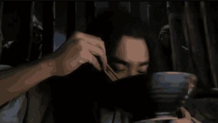 武松这一碗牛肉面吃的是真香啊 看的狱友哈喇子直流