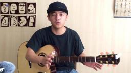 【潇潇指弹教学】《waiting for you》第五部分吉他指弹教学