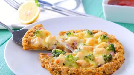 红薯燕麦披萨  宝宝辅食食谱