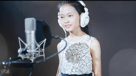 经典翻唱! 小女孩演绎《隐形的翅膀》甜美好听!