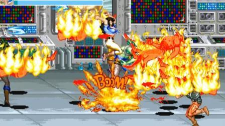 美女汉娜把游戏搞死机《恐龙快打》97恐龙二代极速版