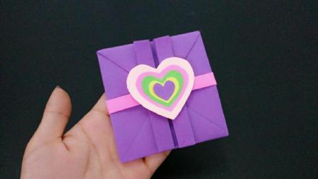 教师节立体贺卡手工制作, 简单漂亮有创意, 老师收到很喜欢