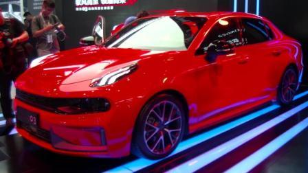领克03亮相2018成都国际车展 领克汽车立体化产品布局进一步完善