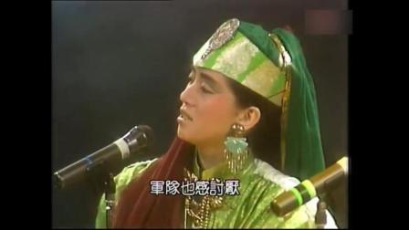 86年梅艳芳携草蜢合唱《爱将》, 师徒配合可谓默契无间!