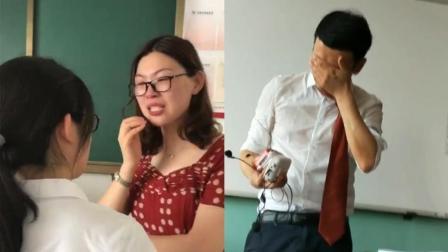 为表达感谢老师, 学生集体合唱刀郎《西海情歌》, 把老师感动到哭了