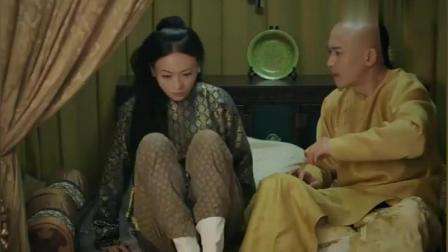 延禧攻略: 皇上璎珞太甜了, 大半夜抢被子, 李玉都看红了脸!