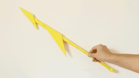 简单的鱼叉折纸, 开着船一起去捕鱼吧, 手工折纸视频