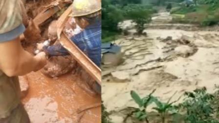火龙果传媒 第一季 云南麻栗坡县发生洪涝灾害 致5人16人失联