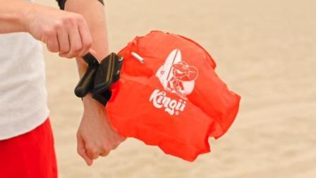 游泳网友的必备, 腕带式救生装备, 1秒能救你的命!
