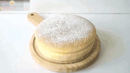 「烘焙教程」松松软软日式芝士蛋糕, 赶快get起来吧!