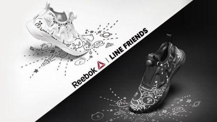 韓國Reebok聯乘LINE FRIENDS推2款運動鞋 黑白配情侶必備
