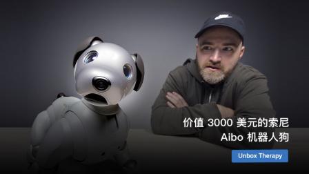 价值 3000 美元的索尼 Aibo 机器人狗