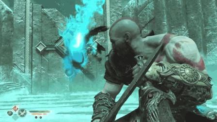 战神4: 奎爷手撕北欧巨汉, 黑吃黑非常硬核