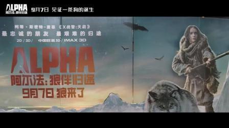 《阿尔法: 狼伴归途》点映观众赞不绝口 史前冒险巨制超强来袭