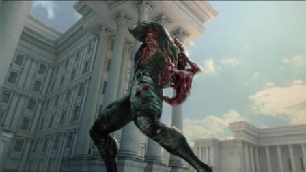生化危机 诅咒 李昂对战超级士兵