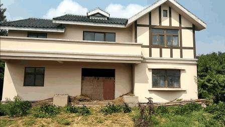 河南农村漂亮的二层别墅, 设计的真不赖, 你喜欢吗? 猜猜花了多少钱