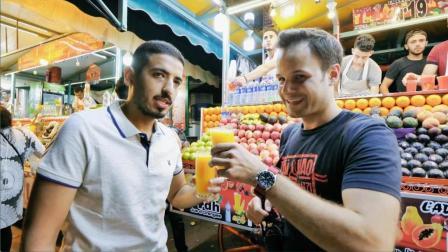 吃货老外带你吃遍摩洛哥夜市美食, 原来蜗牛肉这么好吃