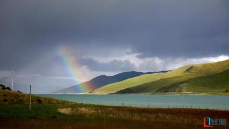 航拍西藏三大圣湖之一羊卓雍措, 第一眼就是世外桃源般的仙境