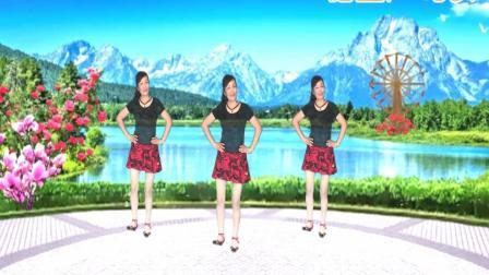 健康一生广场舞《北江美》16步零基础入门舞, 好听好看 简单易学 编舞:玫香