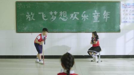 小学生版白毛女上集 演出了穿越剧的感觉