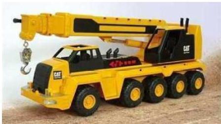 挖掘机工作视频表演大全 挖土机 推土机 吊车 卡车 汽车总动员动画片 火柴人开大吊车3