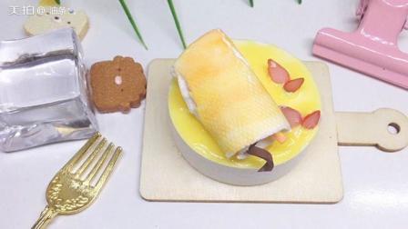 想学做diy粘土小蛋糕吗? 来看看我的吧