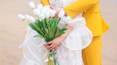 12星座专属新娘手捧花, 狮子座是蓝色妖姬, 最有面!