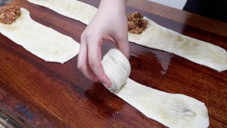 香酥肉饼, 一个独特的做法, 既让肉不柴不硬, 又让饼皮香酥柔软