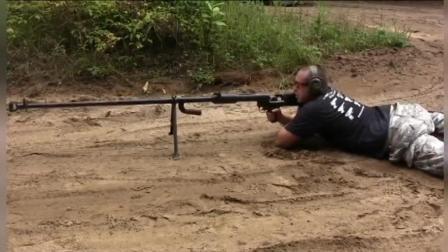 PTRD-41反坦克步枪: 威力碾压巴雷特, 对付德国装甲车的利器!