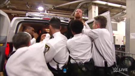 WWE: 圣盾被捕? 圣盾干了什么