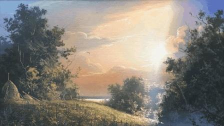 中国美术教程网: 油画风景教学系列9国外牛人教