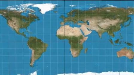 这个比非洲面积还大的岛屿, 到底有多大? 原来我们都被地图欺了