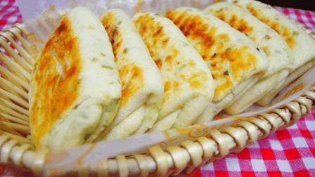 酱香葱花饼的独特做法, 柔软蓬松, 比面包简单, 比馒头好吃