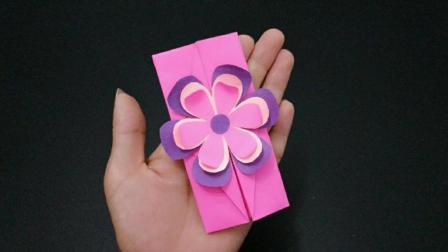 教师节手工制作立体花朵贺卡, 简单漂亮又省钱, 老师收到乐开花