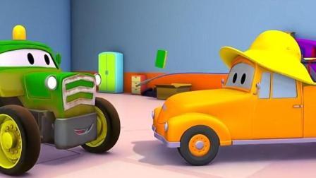 汽车城之拖车汤姆: 拖拉机本连续工作, 太累了, 需要更换新的引擎
