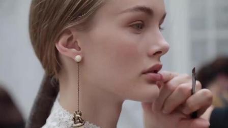 Dior迪奥时装秀后台模特化妆, 全套dior的化妆品, 女生梦想的地方