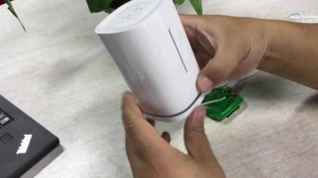 uair温湿度采集开发板_模具外壳安装介绍
