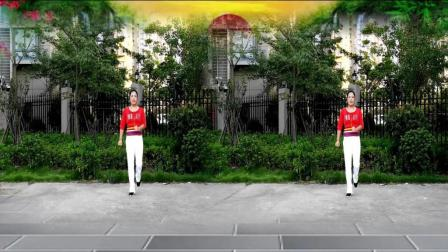 优柔广场舞弹跳32步《野人的士高》编舞: 心随 演示: 优柔