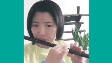 原创: 苗族民歌《阿哥阿妹》动感悠然笛子奏