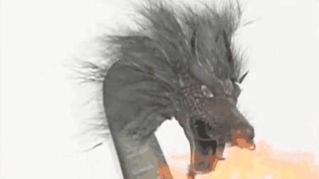 电视片段: 众武林高手去屠龙, 最后都打不过龙