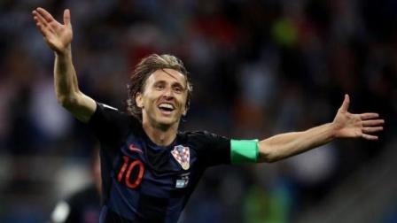 2018年度世界足球先生三人候选名单之: 莫德里奇