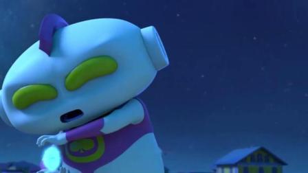 疯了桂宝:桂宝使用超能火腿肠,把拖拉基的攻击全都吃了!
