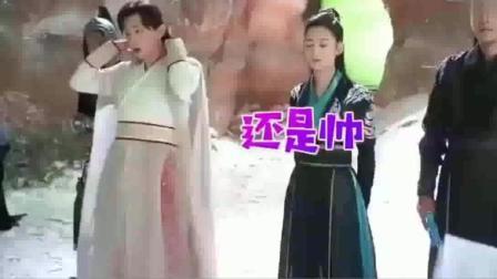 香蜜沉沉烬如霜花絮: 旭凤润玉两大帅哥太臭美