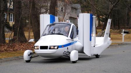 吉利首推飞行汽车, 能飞3000多米高, 不用担心堵车!
