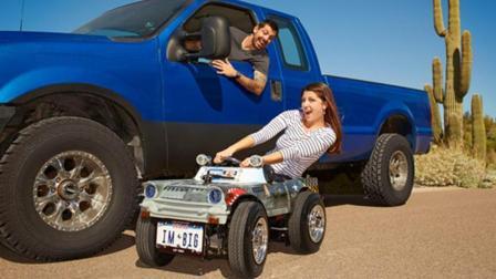 牛人自制不能越野的越野车, 被认定为最小的行驶