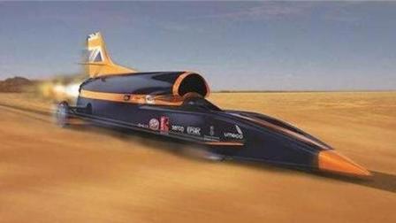 这款汽车跑的比飞机还快, 仅半天就可绕地球一圈, 堪称全球之最!
