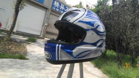 【狂人改色38期】arai头盔修复改色大眼萌--个性定制做漆喷漆彩绘