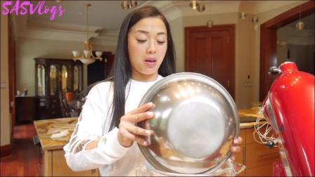 SAS姐做彩虹千层蛋糕教程