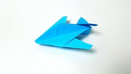 折纸王子教你折纸夜鹰飞机, 简单易学, 动手动脑